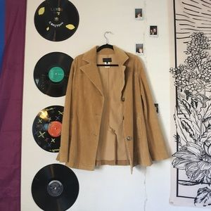 corduroy tan jacket